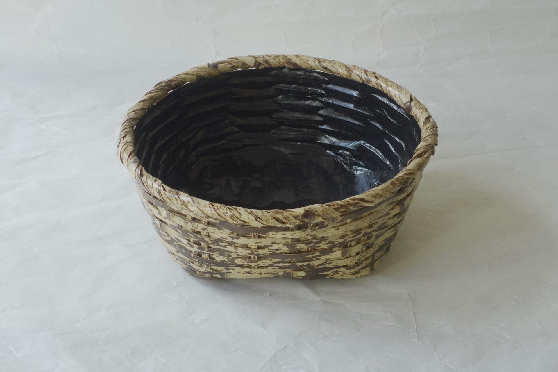 茶道具 茶の湯 茶道 日本製 風炉用 炭斗 炭点前 さざえ篭 海女 サザエ籠 由来